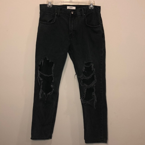 Forever 21 Denim - [Forever 21] Distressed Boyfriend Jeans